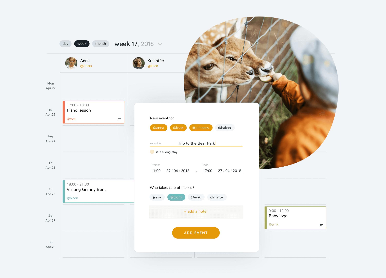 2homes product visual language calendar