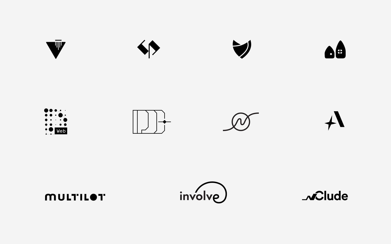 logos by Iryna Nezhynska