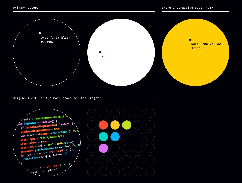 DWeb design Nezhynska colors