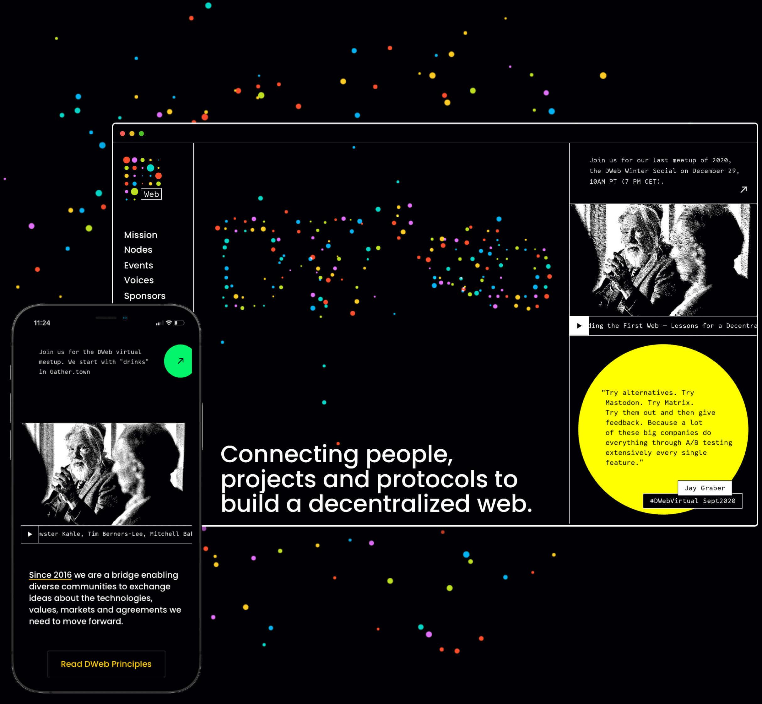 DWeb design Nezhynska web design home page